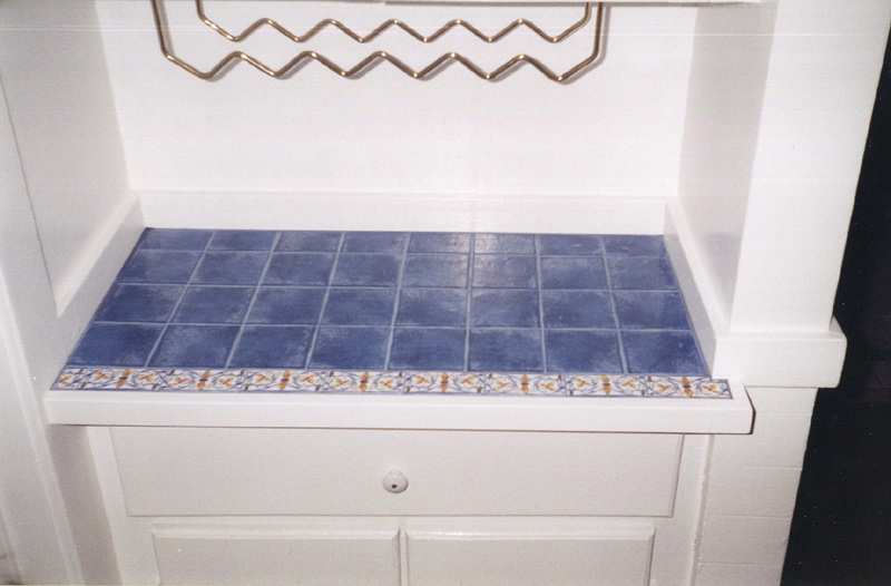 custom mosaic tile